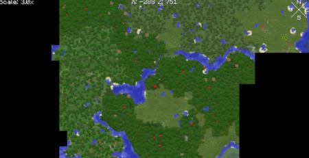 Скачать Xaero's World Map для Minecraft 1.16.2