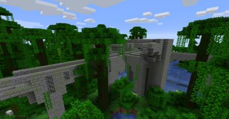 Скачать Repurposed Structures для Minecraft 1.16.3