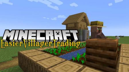 Скачать Easier Villager Trading для Minecraft 1.16.2