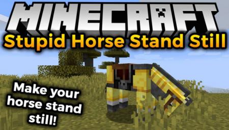 Скачать Stupid Horse Stand Still для Minecraft 1.16.3