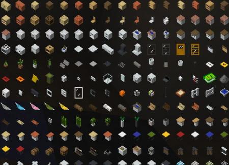 Скачать Reeves Furnitures для Minecraft 1.15