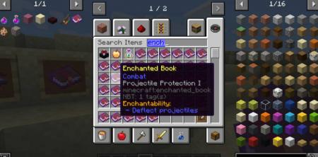 Скачать Enchantability для Minecraft 1.16