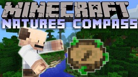 Скачать Nature's Compass для Minecraft 1.16.3