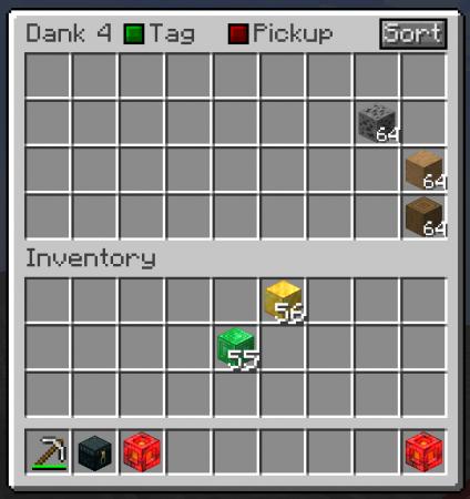 Скачать Dank Storage для Minecraft 1.16.3