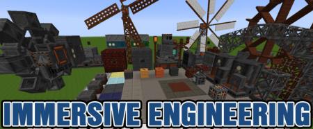 Скачать Immersive Engineering для Minecraft 1.16.3