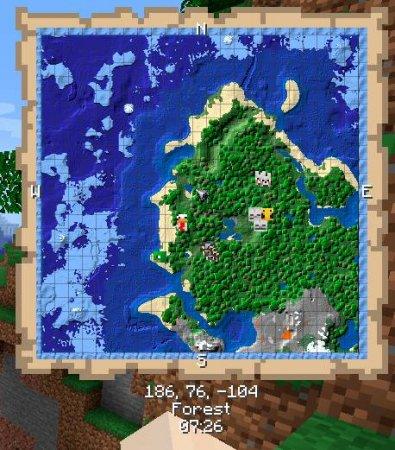 Скачать Just Map для Minecraft 1.16.2