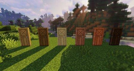 Скачать Macaw's Doors для Minecraft 1.16.3