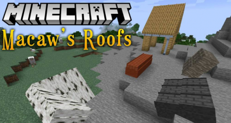 Скачать Macaw's Roofs для Minecraft 1.16.2