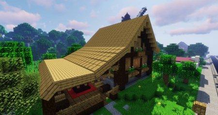 Скачать Macaw's Roofs для Minecraft 1.16.3