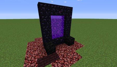 Скачать Nether Portal Spread для Minecraft 1.16.2