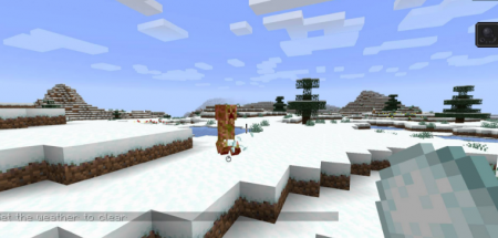 Скачать Snowballs Freeze Mobs для Minecraft 1.16.3