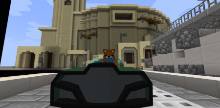 Скачать Car 3D Anarhy для Minecraft 1.15.2