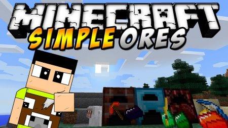 Скачать SimpleOres для Minecraft 1.16.3
