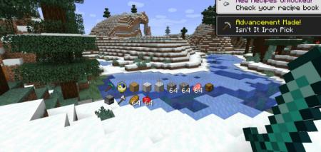 Скачать Inventory HUD для Minecraft 1.16.2