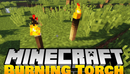 Скачать Burning Torches для Minecraft 1.16.1