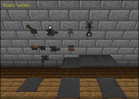 Скачать Redstone Gauges and Switches для Minecraft 1.16.3