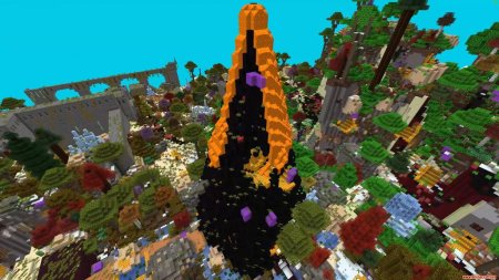 Скачать World Blender для Minecraft 1.15