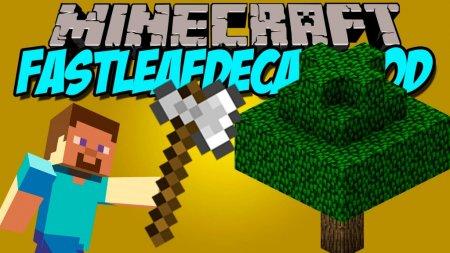 Скачать FastLeafDecay для Minecraft 1.16.1