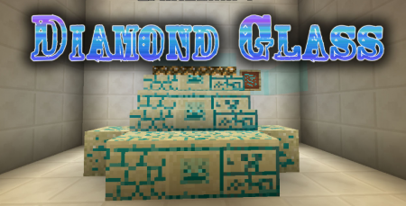 Скачать Diamond Glass для Minecraft 1.16.3