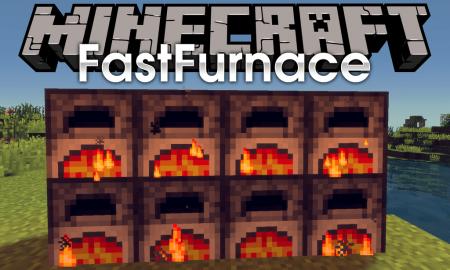Скачать FastFurnace для Minecraft 1.16.3