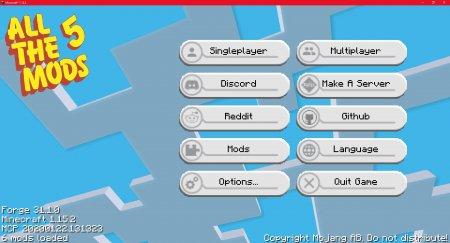 Скачать PackMenu для Minecraft 1.16.3