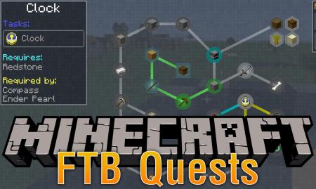 Скачать FTB Quests для Minecraft 1.12.2