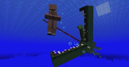 Скачать Ocean Depths Monster для Minecraft 1.16.1