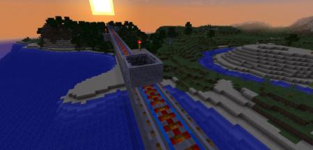 Скачать Useful Railroads для Minecraft 1.16.3