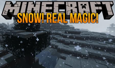 Скачать Snow! Real Magic для Minecraft 1.16.2