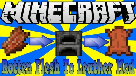 Скачать Just Another Rotten Flesh to Leather для Minecraft 1.14.4