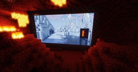 Скачать Immersive Portals для Minecraft 1.16.3