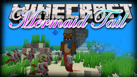 Скачать Mermaid Tail для Minecraft 1.16