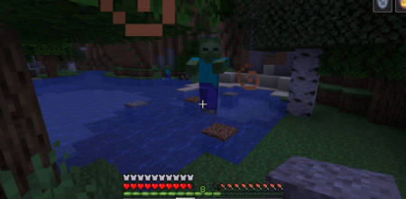 Скачать Mobs Attempt Parkour для Minecraft 1.16.2