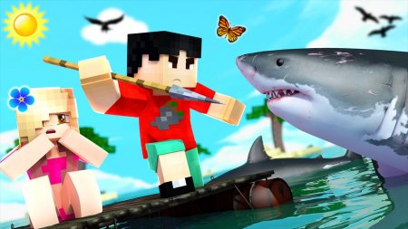 Скачать Just A Raft для Minecraft 1.12.1
