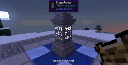 Скачать Waystones для Minecraft 1.16.2