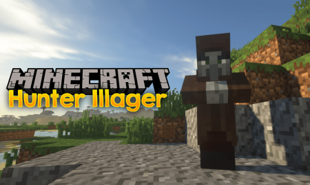 Скачать Hunter Illager для Minecraft 1.16.1