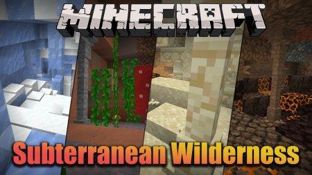 Скачать Subterranean Wilderness для Minecraft 1.16.2