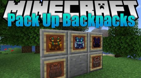 Скачать Packed Up Backpacks для Minecraft 1.16.2