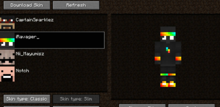 Скачать Skin Swapper для Minecraft 1.16.3