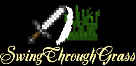 Скачать SwingThroughGrass для Minecraft 1.16.3