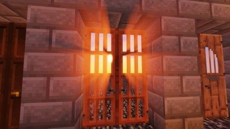 Скачать Dramatic Doors для Minecraft 1.16.3