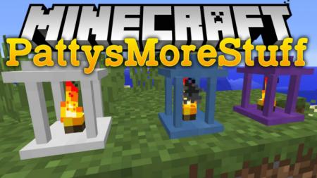 Скачать PattysMoreStuff для Minecraft 1.16.3