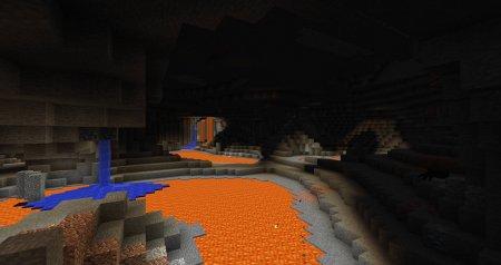 Скачать YUNG's Better Caves для Minecraft 1.16.3