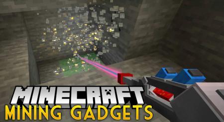 Скачать Mining Gadgets для Minecraft 1.16.3