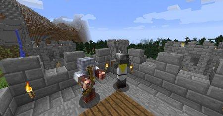 Скачать MedievalCraft для Minecraft 1.12