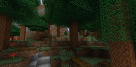 Скачать Woods and Mires для Minecraft 1.16.4