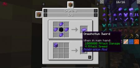 Скачать Adabranium для Minecraft 1.16.3