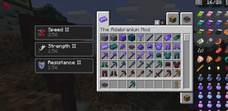 Скачать Adabranium для Minecraft 1.16.4