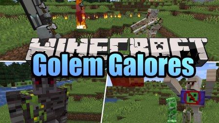 Скачать Golems Galore для Minecraft 1.16.4