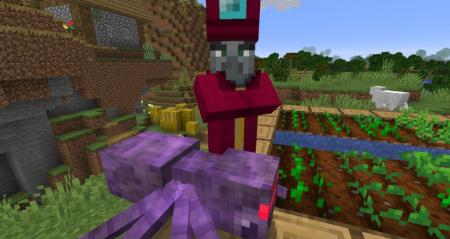 Скачать Enchant with Mobs для Minecraft 1.16.4